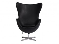 Кресло Egg Chair Black Premium