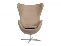 Кресло Egg Chair Dark Beige Premium