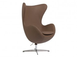 Кресло Egg Chair Brown Premium