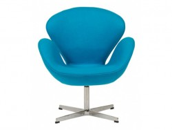 Кресло Swan Chair Blue