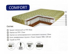 Матрас Comfort (Pocket cocos)